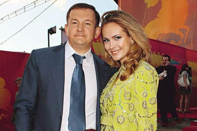 Анна Горшкова с мужем