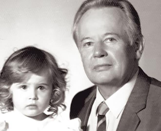 Анна Горшкова в детстве