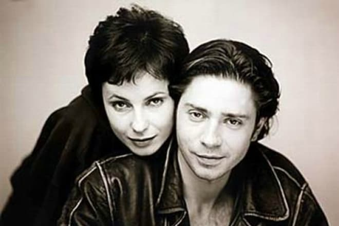 Ирина Апексимова с мужем