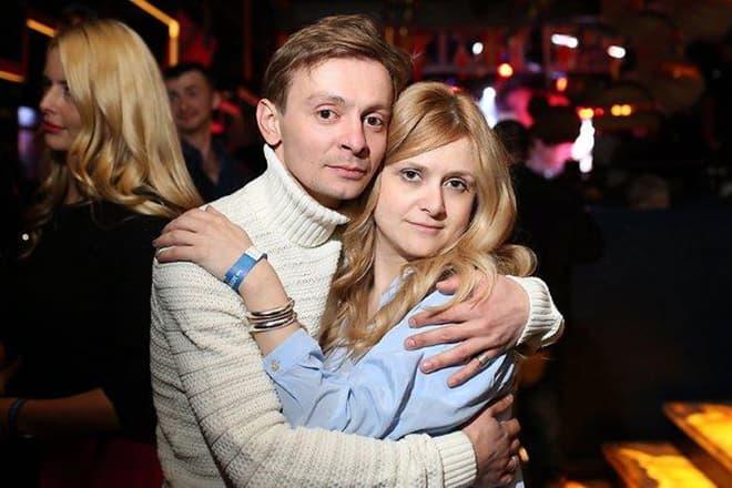 Евгений Кулаков с женой