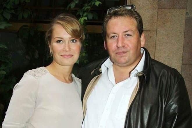 Кристина Бабушкина с мужем
