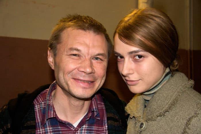 Александр Баширов с дочерью