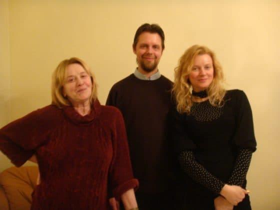 Маргарита Терехова с семьей