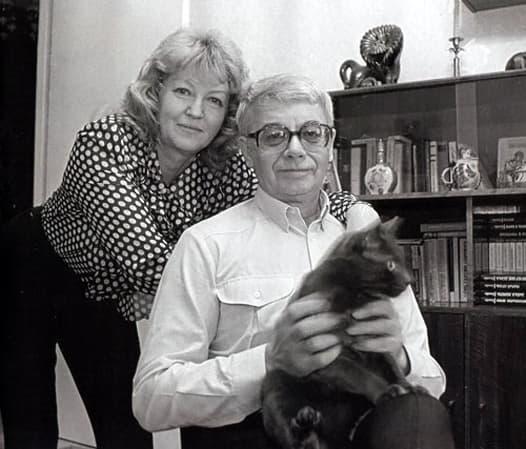Александр Демьяненко с женой