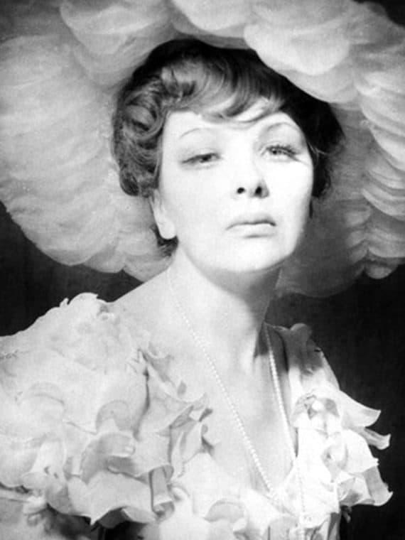 Наталья Тенякова в молодости