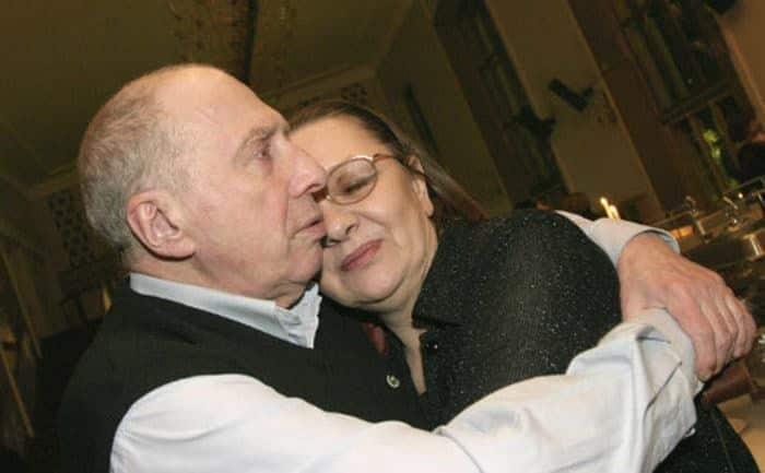 Наталья Тенякова с мужем Сергеем Юрским
