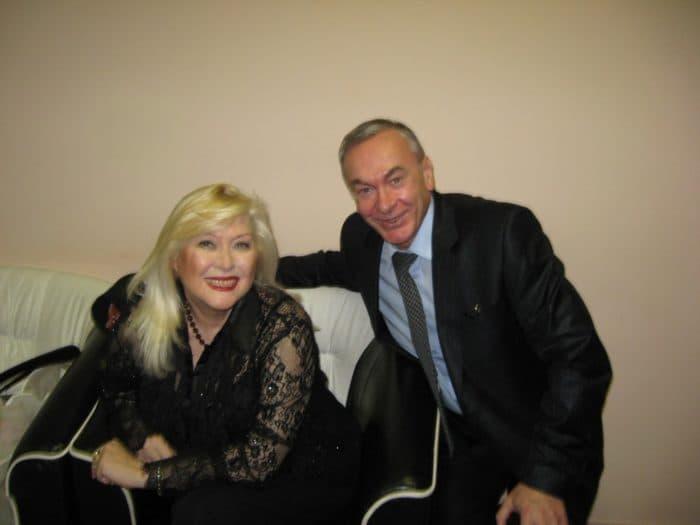 Ирина Мирошниченко с мужем
