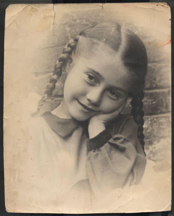 Ирина Мирошниченко в детстве