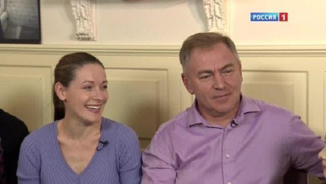 Ольга Красько с мужем