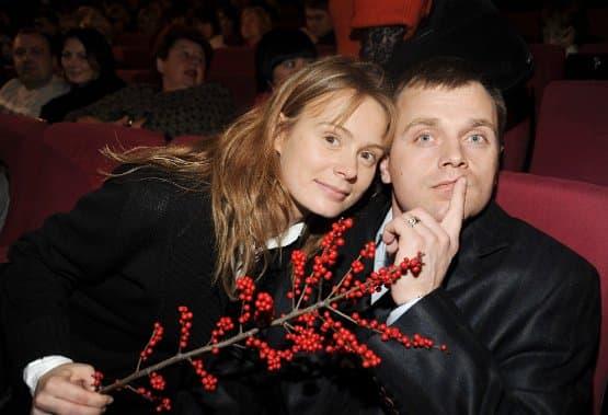 Алла Юганова с мужем