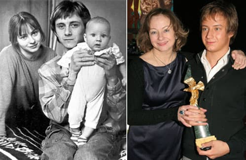 Евгения Добровольская с мужем