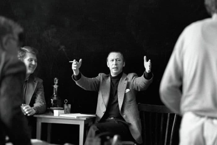 Олег Ефремов в театре