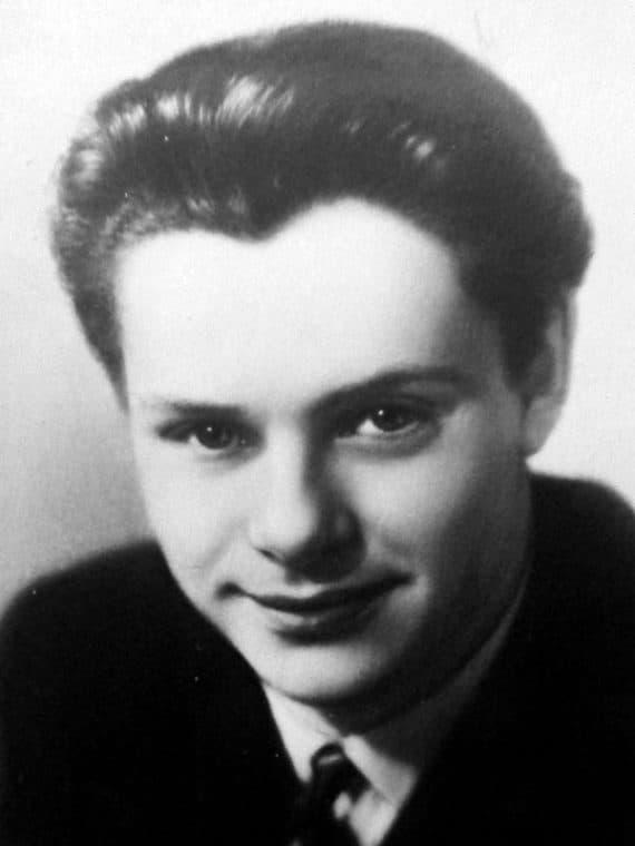 Леонид Харитонов в молодости