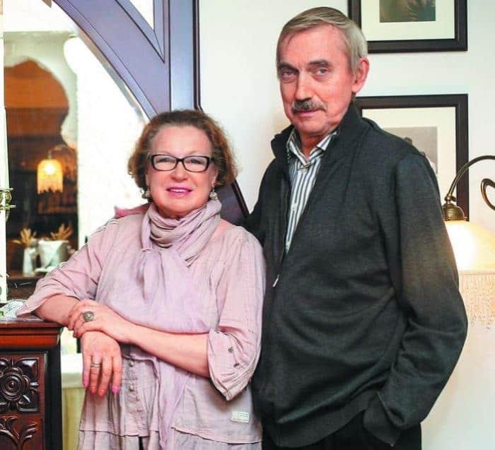 Евгений Киндинов с женой
