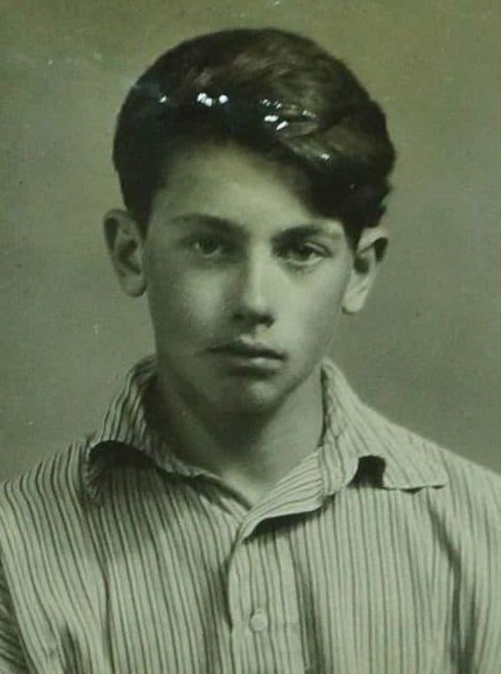 Александр Демьяненко в молодости