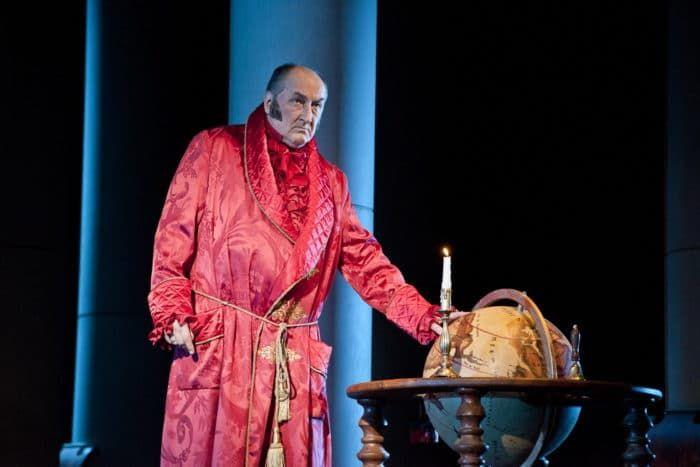 Борис Клюев в театре