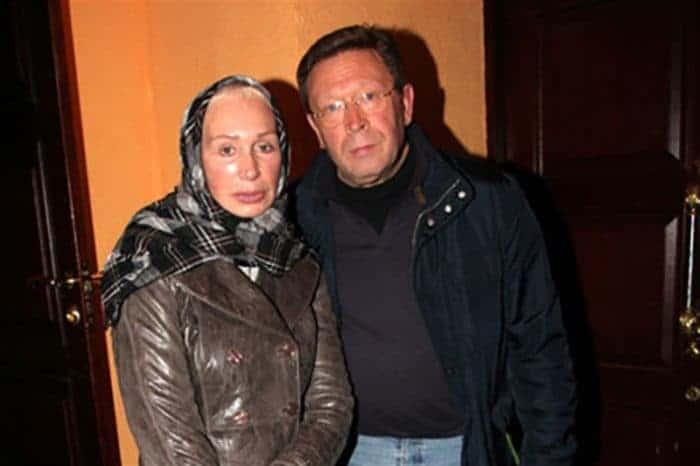 Георгий Мартиросян с женой