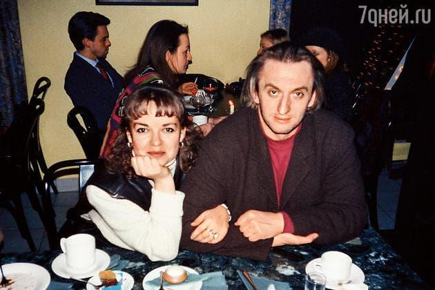 Елена Валюшкина с мужем