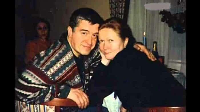 Наталья Гундарева с мужем