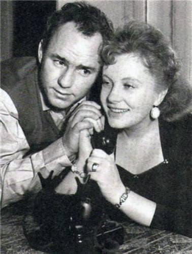 Николай Рыбников с женой