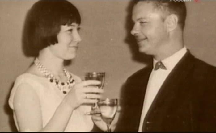 Леонид Харитонов с женой