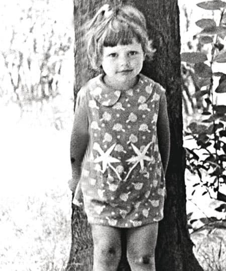 Алена Бабенко в детстве