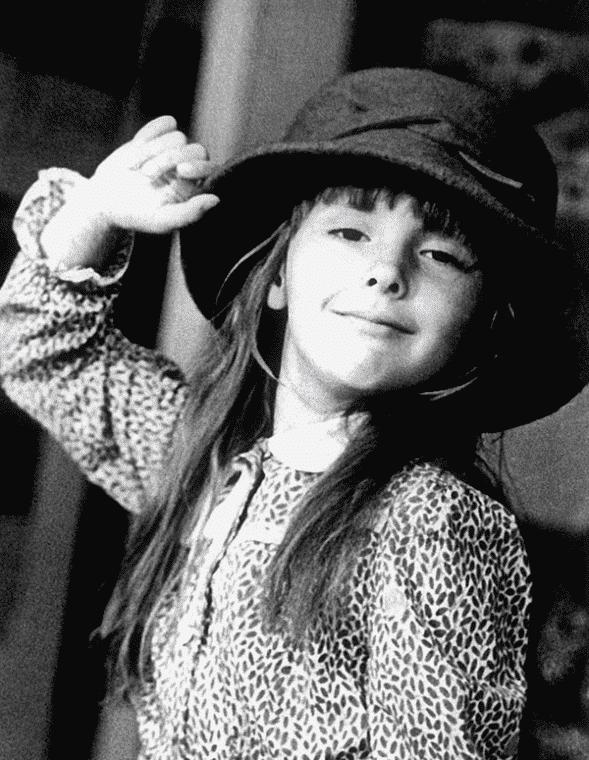 Елена Панова в детстве