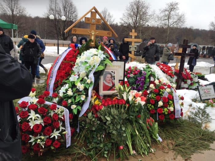 Могила Натальи Крачковской