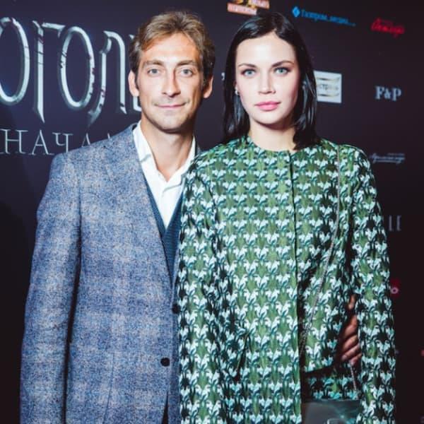 Артем Ткаченко с женой