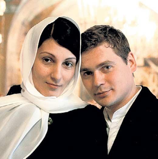 Александр Пашков с женой