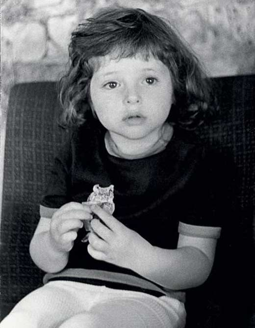 Анна Банщикова в детстве