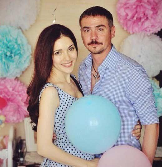 Денис Никифоров с женой