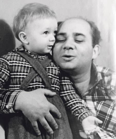 Андрей Леонов в детстве