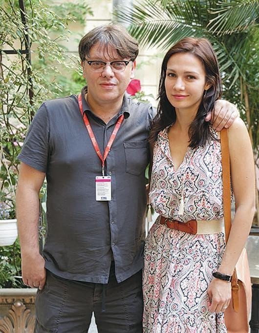 Евгения Брик с мужем