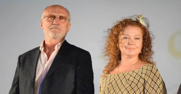 Татьяна Абрамова с мужем
