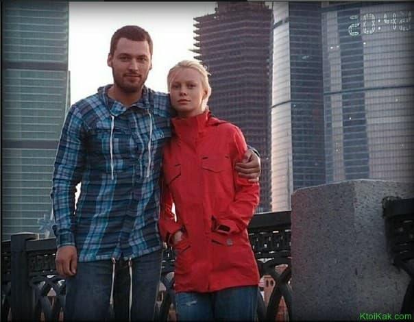 Евгения Осипова с мужем
