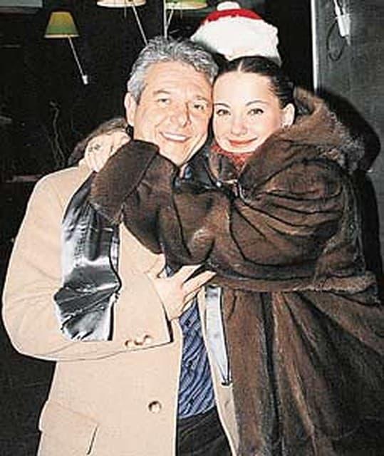 Ольга Будина с мужем