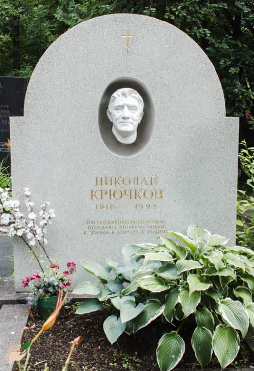 Могила Николая Крючкова