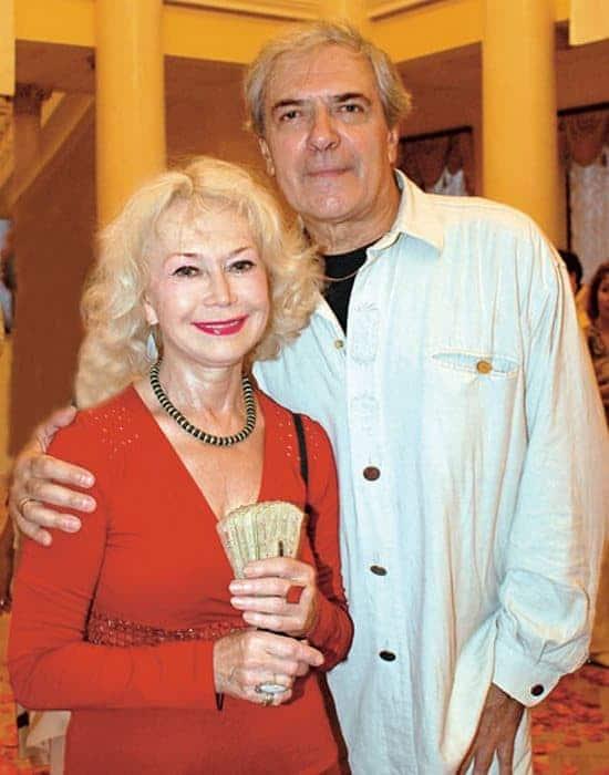 Светлана Немоляева с мужем