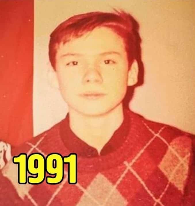 Денис Никифоров в молодости
