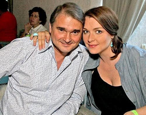 Светлана Антонова с мужем