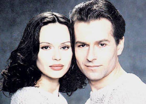 Игорь Ливанов с женой