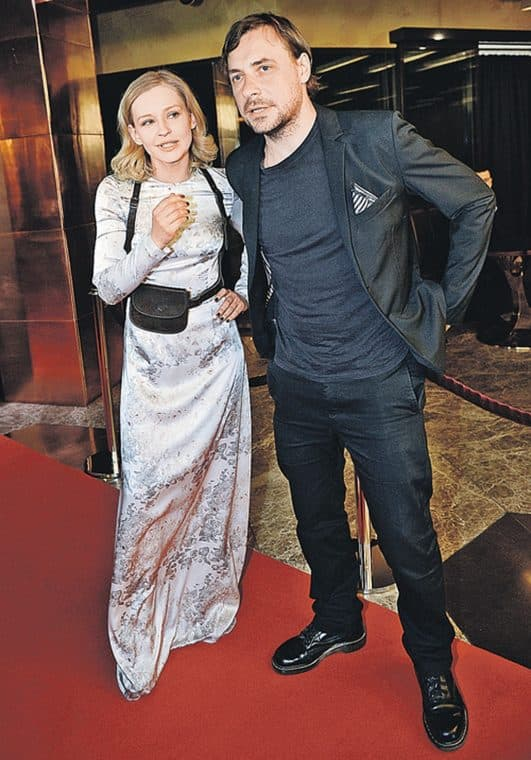 Евгений Цыганов с женой