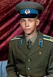 Сергей Глушко в юности
