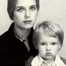 Ксения Алферова в детстве