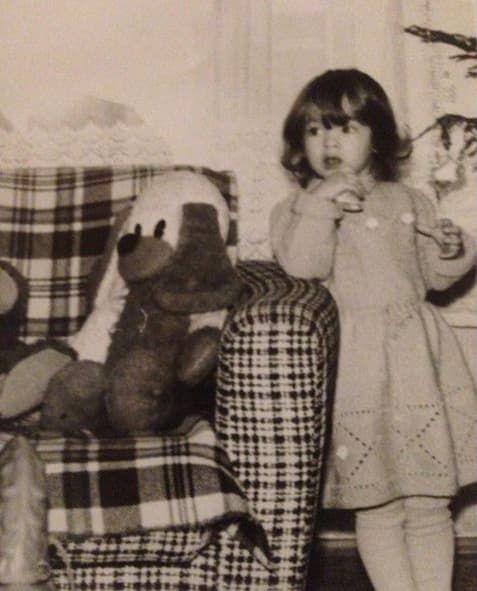 Наталья Бардо в детстве