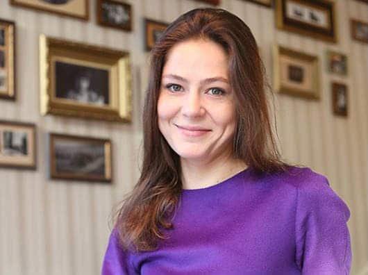 Елена Лядова в юности