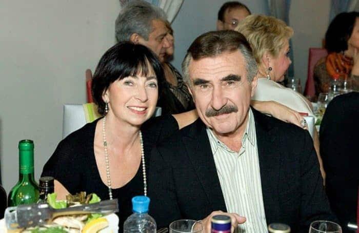 Леонид Каневский с женой