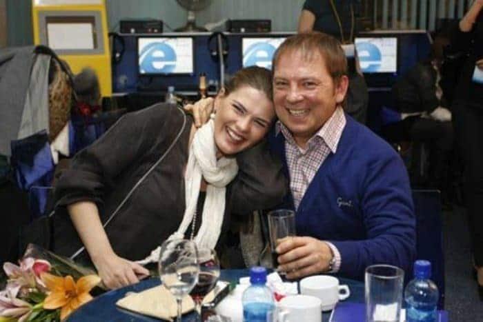 Андрей Федорцов с женой