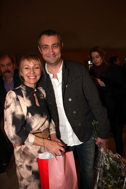 Константин Юшкевич с женой